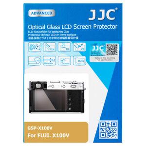 JJC Optical Glass LCD Screen Protector Film for FUJIFILM X100V XT4 XE4 Camera