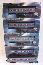 Lionel POLAR EXPRESS Set of 5 Passenger Cars - 25100 25101 25102 25134 25186
