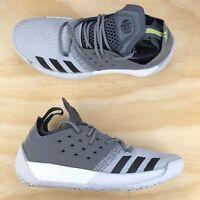 Adidas Harden Vol. 2 Grey White Black Mens Basketball Shoes [AH2122] Multi Size