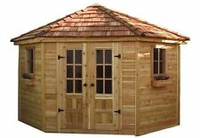 9' x 9' Penthouse Cedar Storage Shed