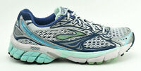WOMENS BROOKS GHOST 4 RUNNING SHOES SIZE 7.5 US 38.5 EU NAVY BLUE WHITE SILVER