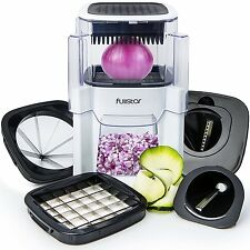 Vidalia Chopper Vegetable Onion & Fruit Cutter 5 IN 1 Nicer Dicer with 2 Spiral