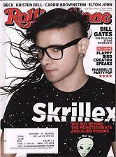 Rolling Stone March 27 2014 Skrillex w/ML EX 121815DBE