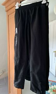 Canterbury New Zealand Black Track Suit bottoms age 12