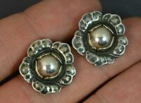 Rare GEORG JENSEN Sterling Silver Ear Clip Of The Year 2002 Silverball