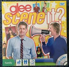 GAME ~ GLEE SCENE IT? FAMILY DVD BOARD GAME ~ NEW IN BOX ~