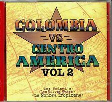 Colombia vs Centro America Vol 2  Roland's  Silver Stars BRAND NEW SEALED  CD