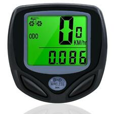 Wireless Bike Bicycle Computer LCD indicateur de vitesse compteur kilométrique Speedo Waterproof