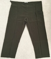 Silk Kung Fu Pants Elastic Waist with Stopper to Fit