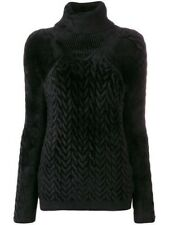 Haider Ackermann Black cable knit turtleneck jumper size medium rrp £905
