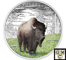 2016 Benevolent Bison-Majestic Animals Color Prf $20  Fine Silver (NT) (17764)