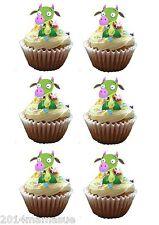 25 Precortada Baby Tv Draco Dragon Stand Up 3d Cupcake Pastel Oblea Arroz Tarjeta Toppers