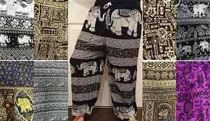 Harem / Aladdin / Hippie / Festival / Boho / Trousers / Pants - 813