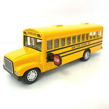 Yellow School Bus, Kinsfun, Diecast Model Toy Car, 6.50 inches