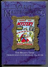 Marvel Masterworks 18 HC Variant Journey Into Mystery 83 84 85 86 - 100 Thor