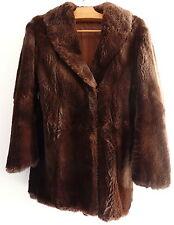 Manteau Femme veste en fourrure Taille 38-40? G.Bountas Vintage 70
