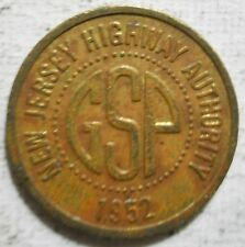 Garden State Parkway (New Jersey) transi 00004000 t token - Nj570A