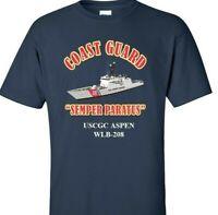 USCGC ASPEN  WLB-208 *COAST GUARD  VINYL PRINT SHIRT/SWEAT