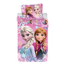 Frozen Sisters Set 2pezzi Letto Singolo Lenzuola Copripiumino,Federa 100% Cotone