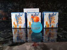 3 X MOSCHINO I LOVE LOVE 0.16 oz / 5 ML EDT Splash Miniature Women NIB