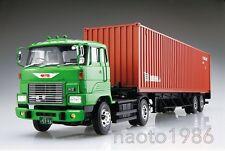 No.19 Hino He trailer Model Car Aoshima 1/32 Heavy Freight series