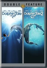 Dolphin Tale + Dolphin Tale 2 New 2 Dvd Set Double Feature Morgan Freeman