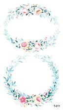 flower wreath temporary tattoo sexy wholesale