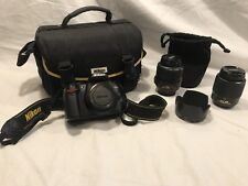 Nikon D D3000 10.2MP Digital SLR Camera With 2 Nikkor lens