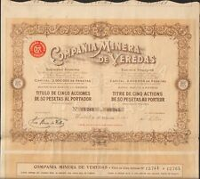 Compana Minera de VEREDAS (ESPAGNE) (J)