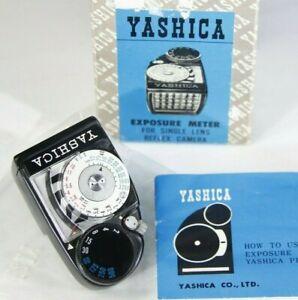 Vintage YASHICA Exposure light Meter, for PENTA J SLR, coupled attachment NOS!