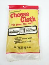 Clean-Rite Cheese Cloth For Home, Car, Boat. 7 Sq Yds. Vintage Cleaning Supplies