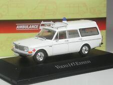 Klasse: Atlas Volvo 145 Express Ambulance Krankenwagen in 1:43 in OVP