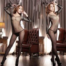 Womens-Sexy-Lingerie-Fishnet-Bodystockings-Dress-Sleepwear-COSPLAY-Club-Babydoll
