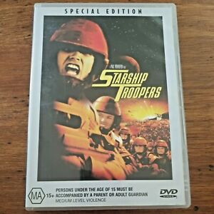 Starship Troopers DVD Special Edition R4 VERY GOOD – FREE POST