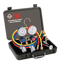 FJC, INC. 6785 - R134a Aluminum Manifold Gauge Set and Tool Assortment