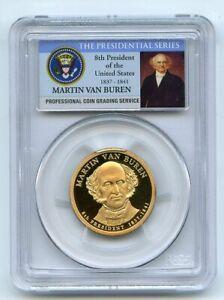 2008 S $1 Martin Van Buren Dollar PCGS PR70DCAM