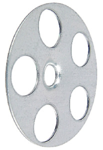 Fischer Dämmstoffteller HA 36 gelocht A4 Dübelteller Dämmplatten Edelstahl