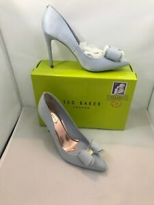 BNIB AUTHENTIC TED BAKER LADIES DESIGNER  EU 41 UK 8 PALE BLUE
