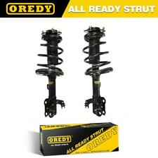 Front Pair Complete Struts & Coil Spring w/Mounts For Toyota Camry 2012-2014