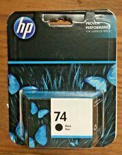 Genuine HP 74 Black Ink Cartridge