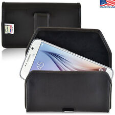 Turtleback Samsung Galaxy S6 Leather Pouch Holster Belt Clip Fits Speck Case
