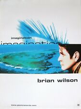 "Brian Wilson ""Imagination"" U.S. Promo Poster - The Beach Boys, Surf Pop Music"