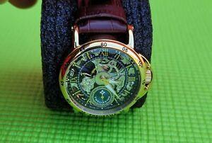 Theorema Casablanca GM101-3 ATM Mechanical Skeleton Watch