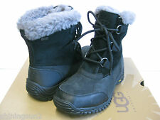 UGG OBSTRANDER WOMEN ANKEL WINTER BOOTS BLACK US 8 /UK 6.5 /EU 39 /JP 25