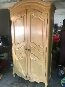 Armoire ~ French Provincial Wardrobe ~ Country French Armoire by Henredon