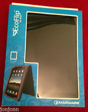 Marware Eco-flip for iPad -Black Leather. BRAND NEW. C L E R A N C E  P R I C E