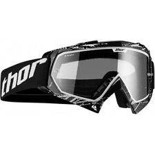 New Youth Kids Thor MX Enemy Goggles Motocross Splatter Black BMX Downhill