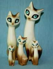HORNSEA VINTAGE SIAMESE CATS - MARION CAMPBELL