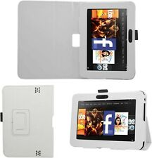 "Samrick Étui en cuir pour Kindle Fire HDX 8,9"" Kindle Fire HD 7"" blanc"