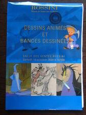 Catalogue Vente Rossini Dessins Animes & Bande Dessinee 10 Octobre 2009